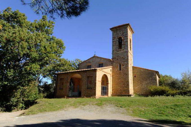 Castelnuovo Pomarance Church